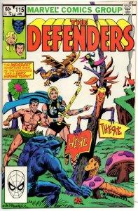 DEFENDERS #115, VF/NM, Sub-Mariner Dr Strange 1972 1983 Marvel