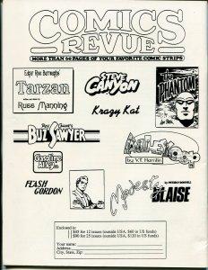 Comics Revue #123 1996-Phantom-Tarzan-Modesty Blaise-Spider-man-Alley Oop-VF