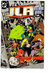12 JLA Year One DC Comic Books # 1 2 3 4 5 6 7 8 9 10 11 12 Superman Flash BH12