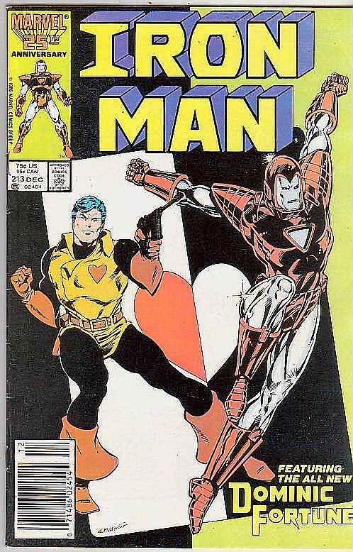 Iron Man #213 (Nov-87) VF/NM High-Grade Iron Man