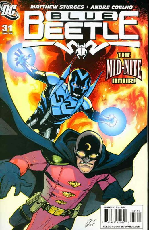 Blue Beetle, The (4th Series) #31 VF; DC   save on shipping - details inside