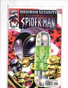 Marvel Comics Peter Parker Spider-Man #24 Maximum Security
