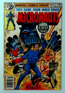 Micronauts #1 Marvel 1979 FN+ Key 1st Team Appearance of Micronauts Comic Book