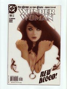 Wonder Woman #189 Adams Hughes Cover New Blood! DC Comics 2003 NM