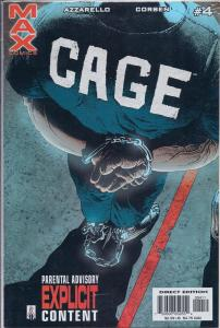 Cage #4 Marvel Max 2002 Near Mint Condition
