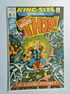 Thor #4 Annual rear spine split to one staple 4.0 VG (1971)