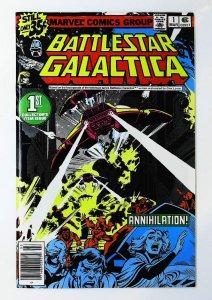Battlestar Galactica (1979 series) #1, NM- (Actual scan)
