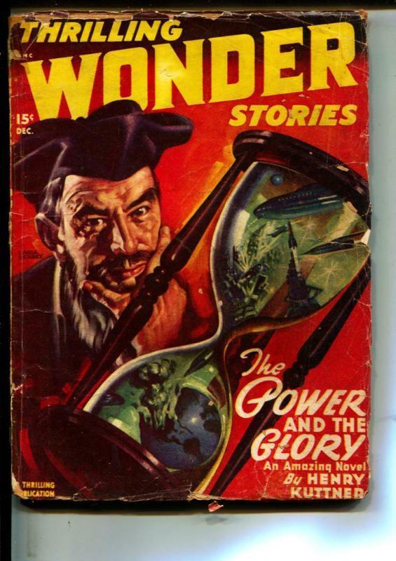 Thrilling Wonder Stories-Pulps-12/1947-Ray Bradbury-Henry Kuttner
