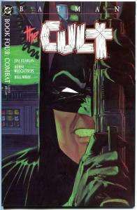 BATMAN The CULT #4, NM-, Bernie Wrightson, Jim Stalin, 1988, more BM in store