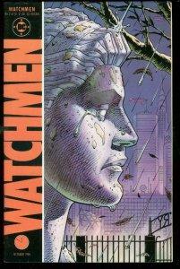 WATCHMEN #2 1986-DAVID GIBBONS-ALAN MOORE-DC COMICS VF