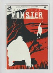 American Monster #2 VF 8.0 Higher Grade!
