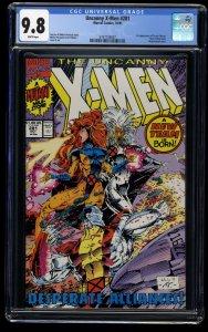 Uncanny X-Men #281 CGC NM/M 9.8 White Pages