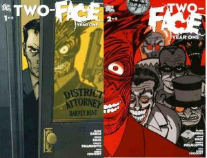 TWO FACE YEAR ONE (2008) 1-2  the COMPLETE series!