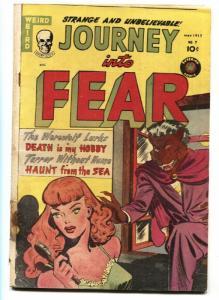 Journey into Fear #7-1952-WEREWOLF LURKS-spicy-weird menace-PCH