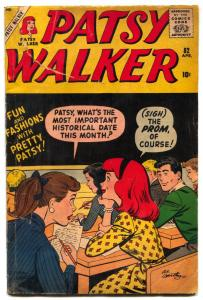 Patsy Walker #82 1959- Marvel Silver Age- Hartley cover- Paper Dolls G/VG