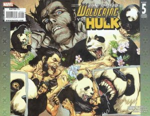 Ultimate Wolverine vs. Hulk #5 (2nd) VF/NM; Marvel | save on shipping - details