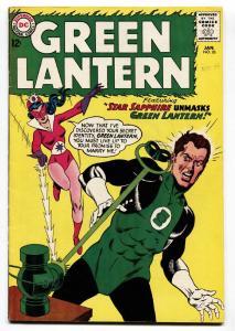 GREEN LANTERN  #26 STAR SAPPHIRE 1964-DC--GIL KANE-vf