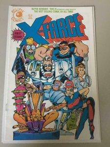 X-FARCE #1, VF/NM, Parody, Eclipse Comics 1992  more Indies in store