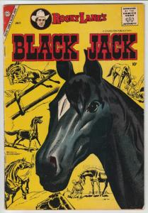 Black Jack #23 (Jul-58) VF High-Grade Black Jack, Rocky Lane