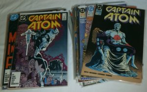 Captain Atom V2 #2-56 (missing 17 issues), Annuals, V3 #2,4-7+ comics lot of 48