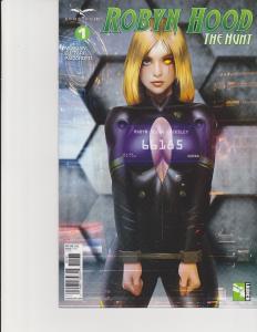 Robyn Hood The Hunt #1 Cover C Zenescope Comic GFT NM Meguro