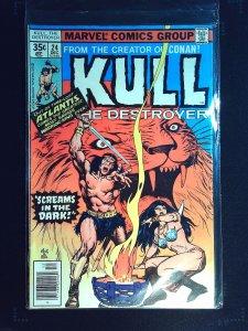 Kull the Destroyer #24 (1977)