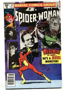 SPIDER-WOMAN #32-comic book Werewolf By Night VG/FN