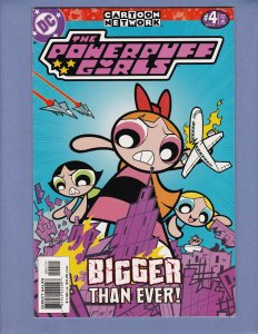 Powerpuff Girls #4 VG DC 2000