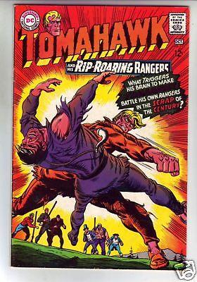 Tomahawk 112 Strict VF/NM High-Grade DC Silver-Age Western huge 50% BV$44.00