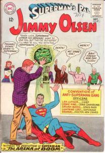 JIMMY OLSEN 87 VG LEGION SUPERVILLIANS APP COMICS BOOK