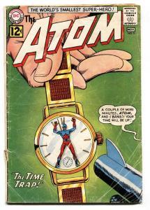 ATOM #3 comic book  1962- 1st appearance of CHRONOS  G