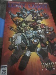 IDW Transformers #23 Lost Light Mint