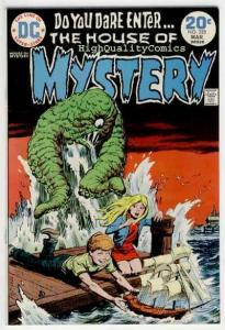 HOUSE of MYSTERY #223, VF+, Demon, Horror, Monsters, more in store