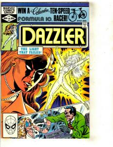 Lot of 10 Marvel Comic Books Dazzler 12 17 3840 41 Deathlok 1 2 3 4 1 JF10