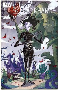 EDWARD SCISSORHANDS #1, NM-, Variant, 2014, more IDW in store