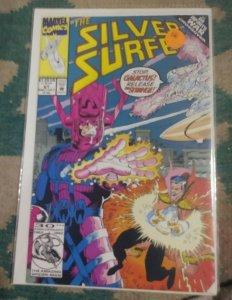Silver Surfer #67 1992  Marvel INFINITY WAR galactus doctor strange nova