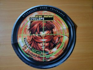 12 x 12  X-Men Operation Zero Tolerance Target Scan CYCLOPS Promo Poster NEW