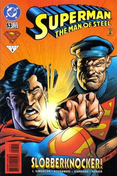 Superman: The Man of Steel #53, NM