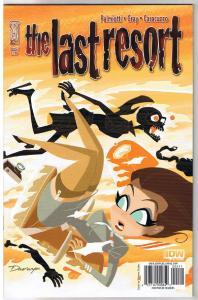 LAST RESORT #2, NM, Darwyn  Cooke, 2009, IDW, more Zombies / Horror  in store