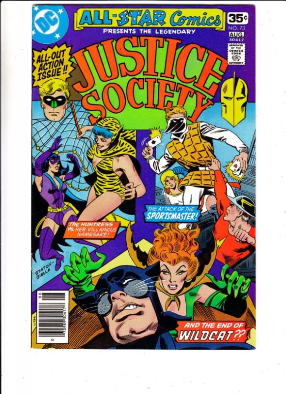 All-Star Comics #73 (Aug-78) FN/VF+ Mid-High-Grade Justice Society of America...