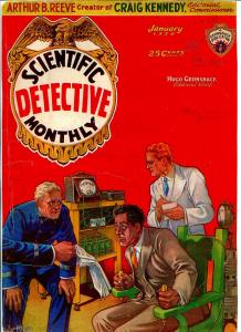 Scientific Detective Monthly #1 1/1930-1st issue-sci-fi mystery pulp-historic-P