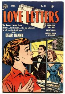 Love Letters #33 1953- Golden Age Romance- comic book