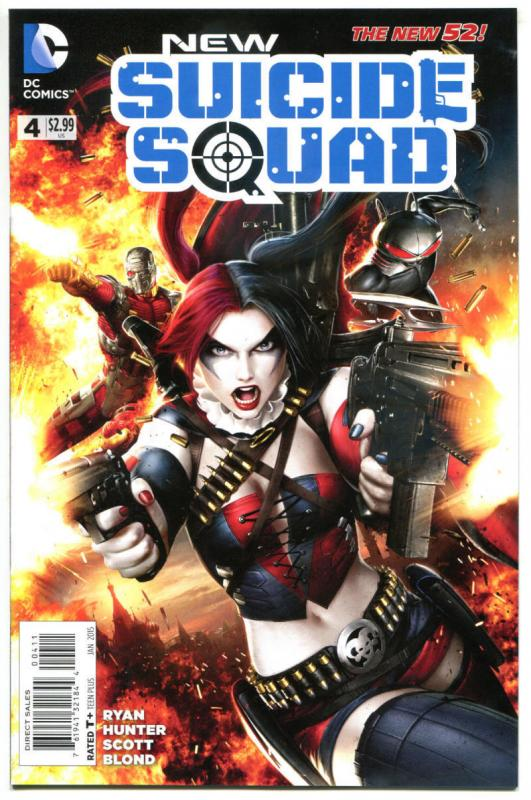 SUICIDE SQUAD #4, NM, Harley Quinn, 2015, Pure Insanity, New 52, more in store