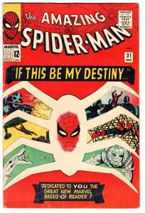 AMAZING SPIDER-MAN #31 MARVEL 1965 1st Gwen Stacy SILVER-AGE