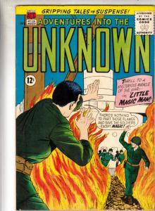 Adventures Into the Unknown #139 (Mar-63) FN/VF- Mid-High-Grade