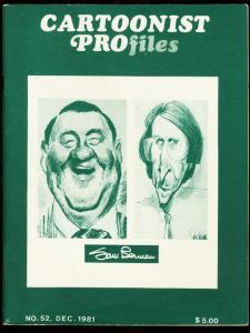 CARTOONIST PROFILES #52-1981-DON MARTIN-HANNA-BARBERA FN