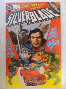 SILVER BLADE # 1 DC POSTER INTACT