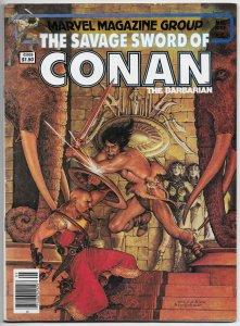 Savage Sword Of Conan Magazine #88 John Buscema (Marvel, 1983) FN-