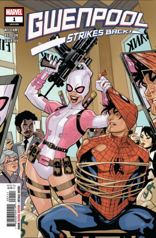 Gwenpool Strikes Back #1 (Marvel, 2019) NM