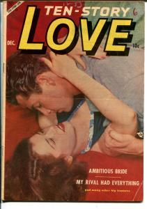 Ten-Story Love Vol. 32 #6 1953-Ace-former pulp-spicy romance art-photo cover-VG